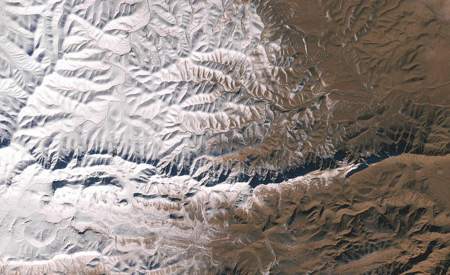 Africa: Snow Falls in the Sahara Desert
