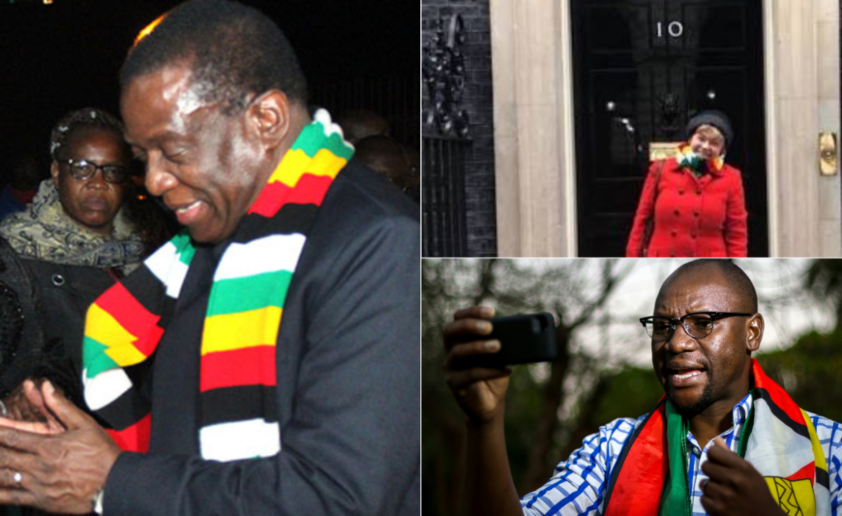 Zimbabweans Hit Back At South Africa Burning Out South: What's The Big Deal About The Zimbabwe Flag Scarves