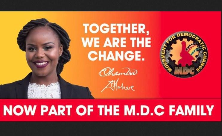 Rights Activist Fadzayi Mahere Joins MDC