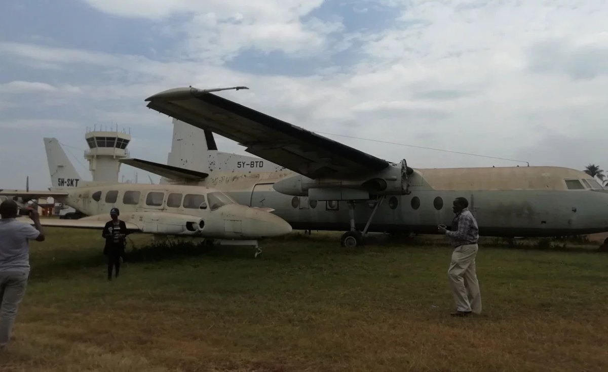 Kenya: A Glimpse of Junk Aircraft on Auction at Wilson Airport in Nairobi