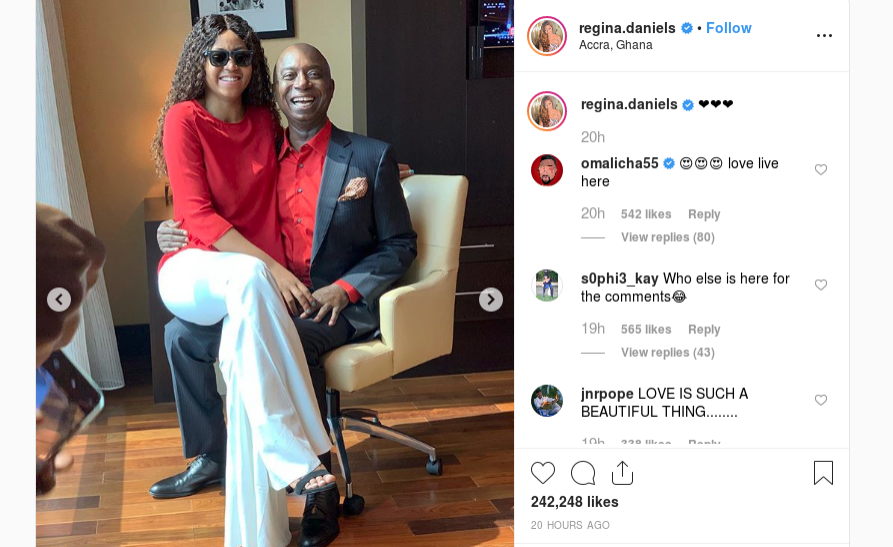 Nigeria: Actress Regina Daniels Shares First Official Photos With Billionaire Husband