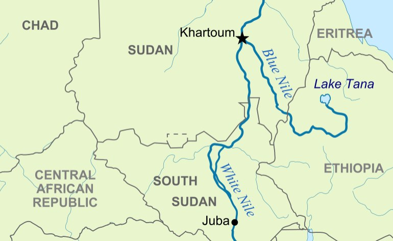 river nile map africa East Africa Nile Basin States Must Build A Flexible Treaty river nile map africa