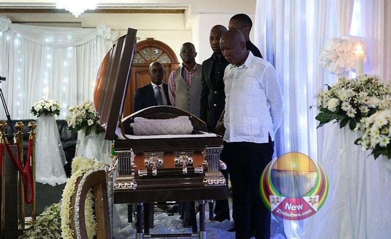 Zimbabwe: Mugabe Family Changed Burial Place After Malema Visit