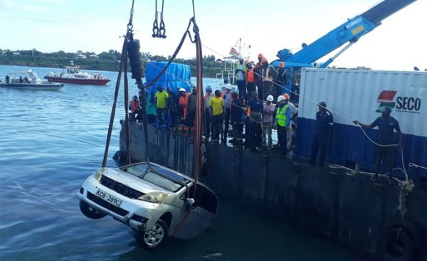 Kenya: Car That Sunk Into Indian Ocean With Mother and Daughter Retrieved