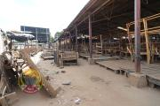 A deserted Mupedzanhamo Market in Mbare