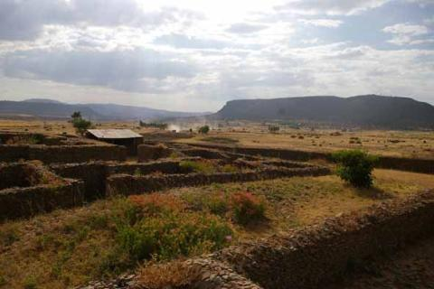 Ruins of Queen of Sheba Palace