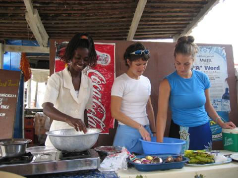Ghanaian Cuisine Workshop