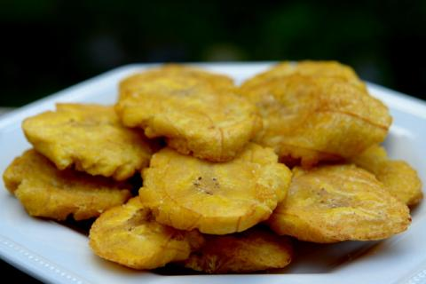 Hot Plantain Chips