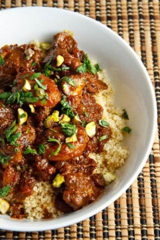 Lamb Tagine with Onions and Raisins
