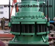 Spring Cone crusher is widely applied in metallurgical, construction, road building, chemical and phosphatic industry. Cone crusher is suitable for hard and mid-hard rocks and ores, such as iron ores, copper ores, limestone, quartz, granite, gritstone, etc. Type of the crushing cavity is decided by the application of the ores. Standard type is for PYZ (secondary crush); middle type is for PYD (tertiary crush); short-head type is for primary and secondary crush.