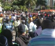 South African Municipal Workers Union (SAMWU) strike