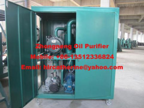 Used Transformer Oil Purifier Vacuum Cable Oil Filtration Machine
